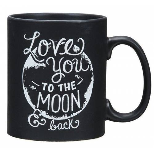 Natural Life Taza LOVE YOU TO THE MOON