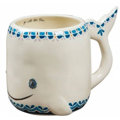 Natural Life Taza Ballena Folk original