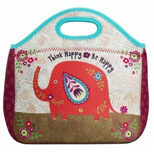 Natural Life Bolsa de Neopreno THINK HAPPY