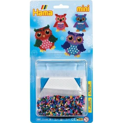 Blister Hama Mini Búhos